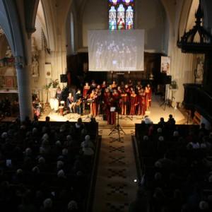 Concert de noël par la chorale