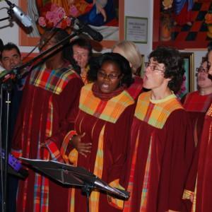 Live des choriste du Keur couleur Gospel