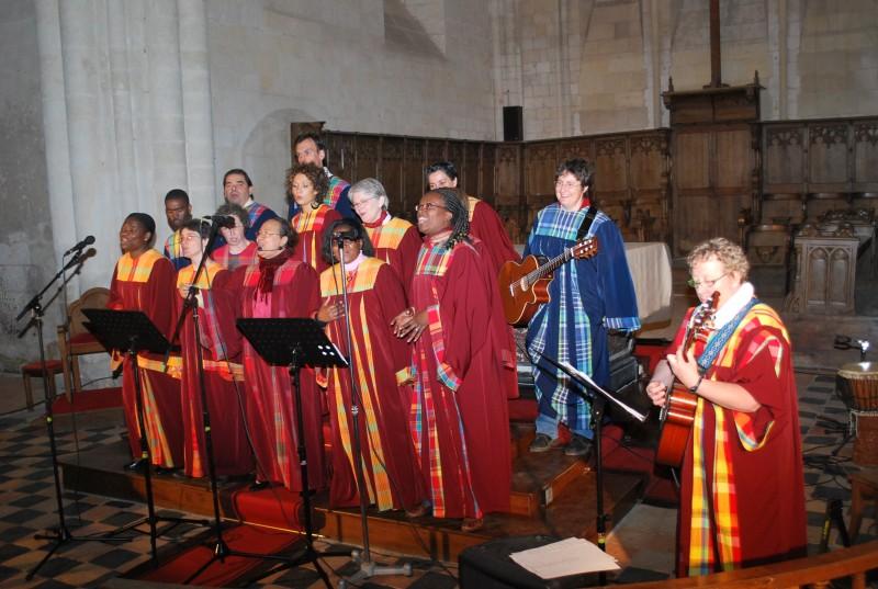 Chant dans une église