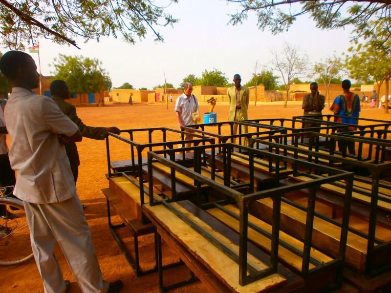 Niger école primaire soutien