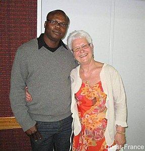 Paulette Guillois et Alain Fidele Kolongato