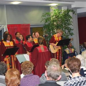 Concert dans une maison de retraite