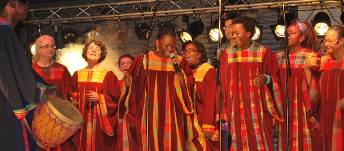 Keur Couleur Gospel en concert